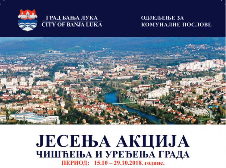 Banja Luka - jesenje uređenje grada 2018.